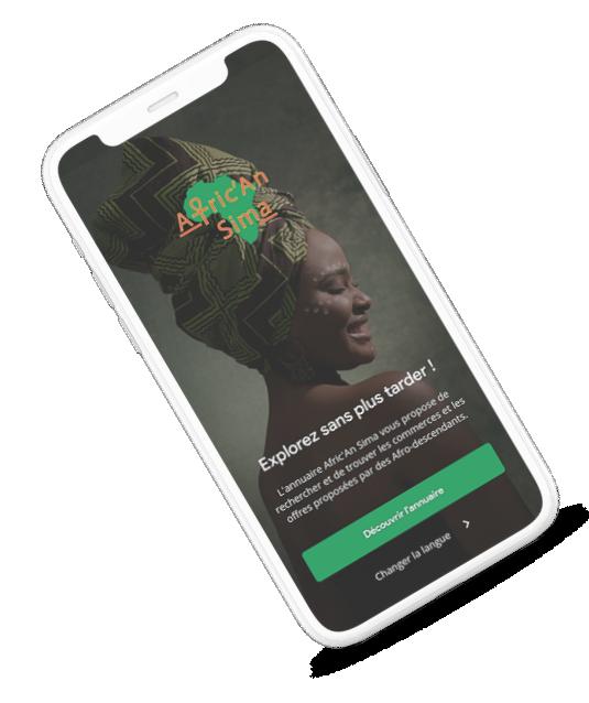 <span>Afric'An Sima</span>, votre annuaire mobile en ligne gratuit